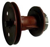 Комплект №7  (шкив, вал, 2 подшипника, ротор, крышка)
